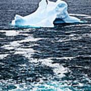 Melting Iceberg Art Print by Elena Elisseeva