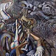 Memories Of A Carousel Art Print