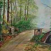 Memory Bridge 1 Art Print