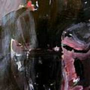 Menacing - He Waits For Dark For Her Art Print