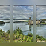 Menai Suspension Bridge Art Print