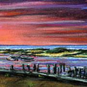 Menemsha Sunset Art Print