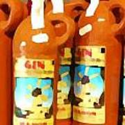 Menorcan Gin Art Print