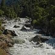 Merced River In Yosemite Art Print by Tim Mulina