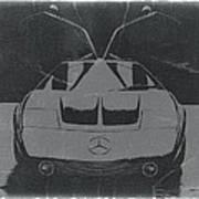 Mercedes Benz C IIi Concept Art Print by Naxart Studio