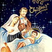 Merry Christmas Art Print by Tanmay Singh