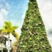 Merry Christmas Tree 2012 Art Print