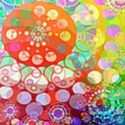 Merry Go Round Spinning 1 Art Print
