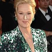Meryl Streep At Arrivals For 16th Art Print by Everett