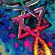 Messianic Colors Art Print