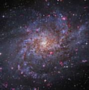 Messier 33, Spiral Galaxy In Triangulum Art Print by Robert Gendler