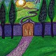 Metaphor Door By Jrr Art Print