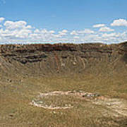 Meteor Crater Art Print
