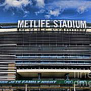 Metlife Stadium Art Print