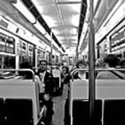 Metro Ride Art Print