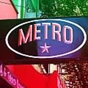 Metro Star Art Print