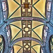 Metropolitan Cathedral Ceiling Art Print