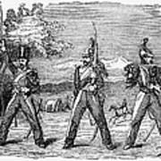 Mexican American War, 1846 Art Print