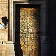 Mexican Door 21 Art Print