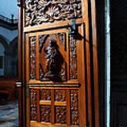 Mexican Door 3 Art Print