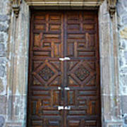 Mexican Door 32 Art Print