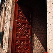 Mexican Door 49 Art Print