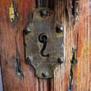 Mexican Door Decor 7   Art Print