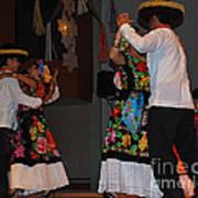 Mexican Folk Dancers 3 Art Print