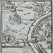 Mexico - Spanish Conquest Art Print