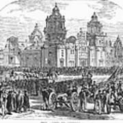 Mexico City, 1847 Art Print by Granger