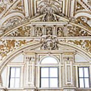 Mezquita Cathedral Renaissance Ornamentation Art Print
