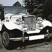 Mg Classic Car Art Print