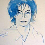 Michael Jackson - Gimme Your Wings Art Print by Hitomi Osanai