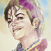 Michael Jackson - Mike Art Print by Hitomi Osanai