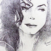 Michael Jackson - Nothing Compared To You Art Print