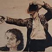 Michael Jackson Art Print by Michael Garbe