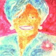 Michelle Obama 2 Art Print