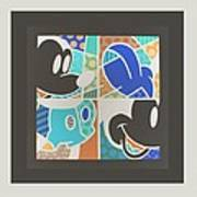 Mickey In Negative Art Print