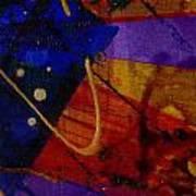 Mickey's Triptych - Cosmos IIi Art Print