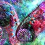 Microscope Dreaming 3 Art Print