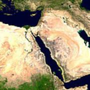 Middle East Art Print