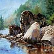 Middle Fork Salmon River Art Print