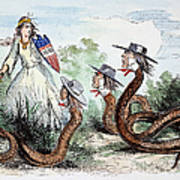 Midwest Copperheads, 1863 Art Print
