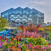 Miejer Gardens Revisited Art Print