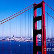 Mighty Golden Gate Art Print