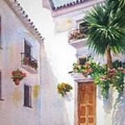 Mijas Spain Art Print