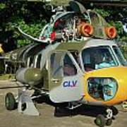 Mil Mi-2 Hoplite Art Print