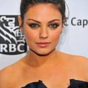 Mila Kunis At Arrivals For Ifps 20th Art Print