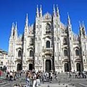 Milan Duomo Cathedral Art Print
