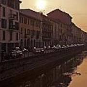 Milan Naviglio Grande Art Print
